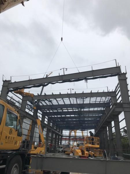 鉄骨建方 施工事例更新